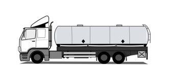 Camion di serbatoio Fotografia Stock