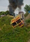 Camion di Tatra in una corsa fuori strada Immagine Stock