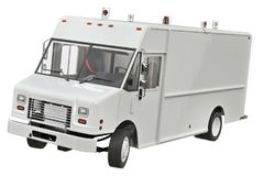 Camion di Van car Immagini Stock Libere da Diritti
