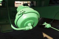 Camion di verde della camera del freno Fotografia Stock Libera da Diritti