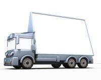Camion e segno Immagine Stock Libera da Diritti