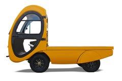 Camion elettrico fotografia stock