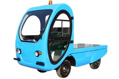 Camion elettrico fotografie stock libere da diritti