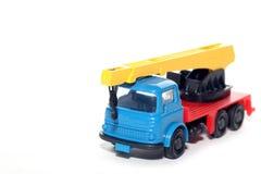 Camion en plastique de grue de Bedford Images libres de droits