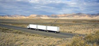 Camion en Utah Image stock