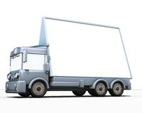 Camion et signe Image libre de droits
