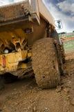 Camion fangoso Immagine Stock Libera da Diritti