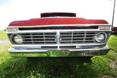 Camion frontal Photographie stock libre de droits