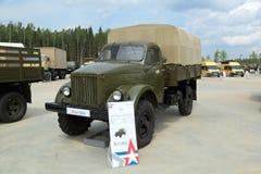 Camion GAZ-63 Immagine Stock
