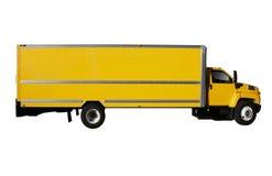 Camion giallo Fotografia Stock Libera da Diritti