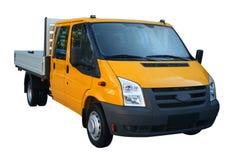 Camion giallo-chiaro Fotografia Stock
