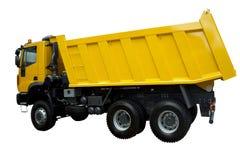 Camion giallo moderno Fotografia Stock