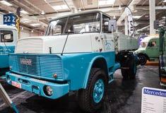 Camion historique H 161 de HANOMAG HENSCHEL Photographie stock libre de droits
