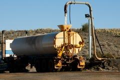 Camion industriel de l'eau images stock