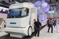 Camion intelligent de WABCO à l'IAA Photographie stock libre de droits