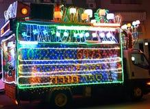 Camion juif de célébration Photos libres de droits