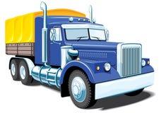 Camion lourd illustration de vecteur