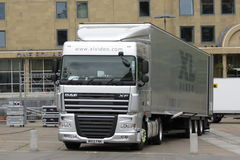 Camion lungo a Edimburgo Fotografie Stock