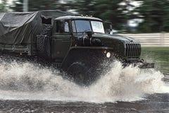 Camion militaire image libre de droits
