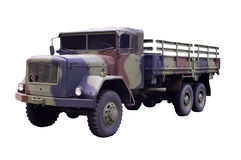 Camion militare Fotografie Stock