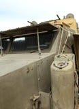 Camion militare americano storico della seconda guerra mondiale Immagine Stock
