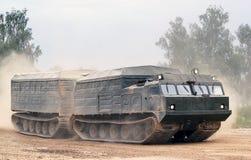 Camion militare russo Fotografie Stock Libere da Diritti