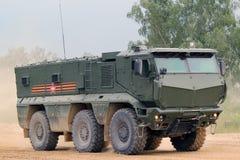Camion militare russo Immagini Stock