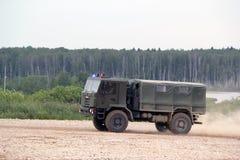 Camion militare russo Fotografia Stock