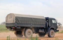 Camion militare russo Immagine Stock