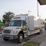 Camion mobile di comando Immagini Stock Libere da Diritti