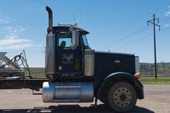 Camion na boa vinda da estrada a Utá fotografia de stock