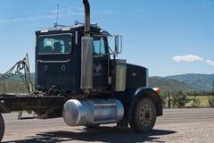 Camion na boa vinda da estrada a Utá foto de stock royalty free
