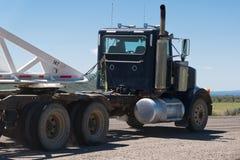 Camion na drogi powitaniu Utah Zdjęcie Royalty Free