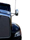 Camion nero Immagini Stock