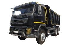 Camion nero moderno Fotografie Stock Libere da Diritti