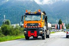 Camion OeAF di servizio della strada Immagine Stock Libera da Diritti