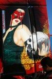 Camion peint Photo stock