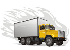 Camion pesante di vettore Fotografie Stock