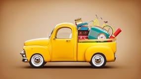 camionnette de livraison photos libres de droits image 11512178. Black Bedroom Furniture Sets. Home Design Ideas