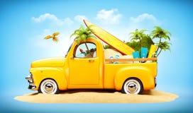 Camion pick-up Images libres de droits
