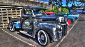 Camion pick-up de Ford de prison d'Alcatraz de vintage Photographie stock libre de droits