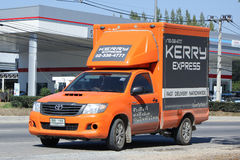 Camion pick-up logistique de récipient de Kerry Image stock
