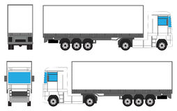 Camion pour le marquage à chaud Photos libres de droits