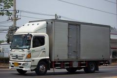 Camion privé de cargaison du dominateur 500 de Hino Photo libre de droits