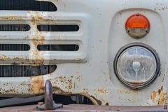 Camion rouillé de phare Images libres de droits