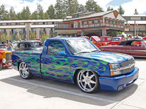 Camion su ordinazione Fotografia Stock Libera da Diritti