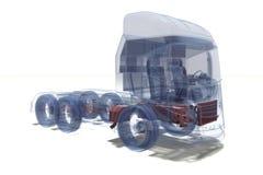 Camion superbe illustration de vecteur