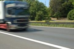 Camion sur la route Images stock