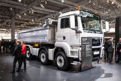 Camion TGS de construction d'HOMME Photo libre de droits