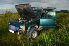 camion 4x4 tous terrains Images libres de droits
